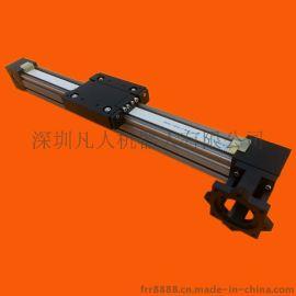 滚轮高速直线导轨电动滑块铝合金模组 直线驱动模组数控