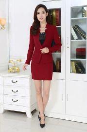 2016夏季新款简单西装扣女士西装职业装西装厂家定做