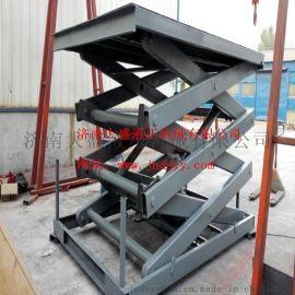 固定剪叉式升降机、固定式货梯升降平台、简易货梯、旋转展示厅