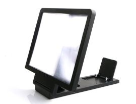 手机屏幕放大镜 3d折叠支架器 视频2-3倍手机放大通用支架