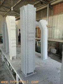 和业手糊定制石头漆玻璃钢立柱 厂家定制玻璃钢装饰玻璃钢造型