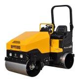 路得威4噸小型壓路機手扶單鋼輪雙鋼輪駕駛式壓路機