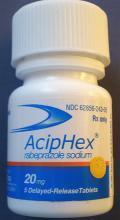 原研一致性进口:雷贝拉唑钠肠溶片(ACIPHEX)