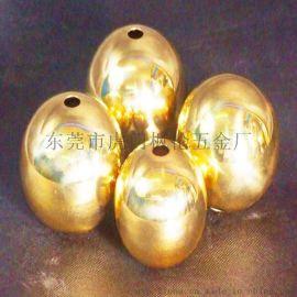 金色   五金球空心