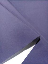 涂白化纤面料+平纹+涤纶塔丝隆 PU涂白