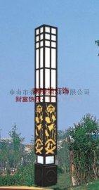 【仿云石景观灯】森隆堡灯饰专业户外非标工程灯,方形景观灯定制