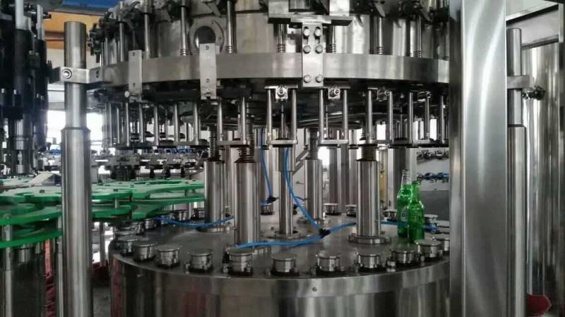 碳酸饮料生产线 三合一等压灌装机 全自动灌装