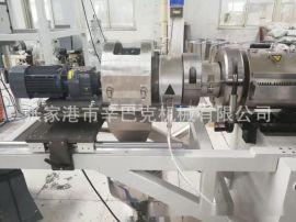 造粒机PVC热切造粒生产线 塑料再生造粒机锥形双螺杆挤出生产线