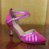 新款舞鞋中跟6cm软底女式成人摩登舞鞋交谊舞鞋广场舞现代舞