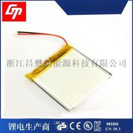 聚合物115050 电池3.7v 3200mah太阳能灯具充电 电池