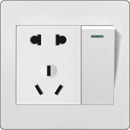 BXDQ八喜电气厂家直销国标一开五孔双控开关