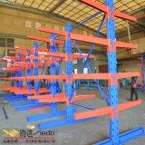 厂家直销定制 管材型材单双面悬臂货架 仓库仓储钢材货架布匹货架