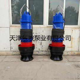 1400QZB轴流潜水泵安装方式