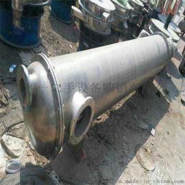 供应二手列管冷凝器  钛管冷凝器