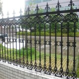 铸铁焊接工艺穿插组合式护栏小区铸铁围墙隔离栏杆
