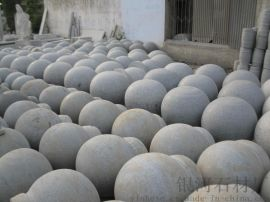 供应50石球圆球路障挡车石 大理石广场石