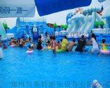 安徽滁州水上乐园厂家定做支架水池畅销全国