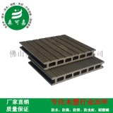 廣東塑木地板廠家直銷花園別墅生態木地板