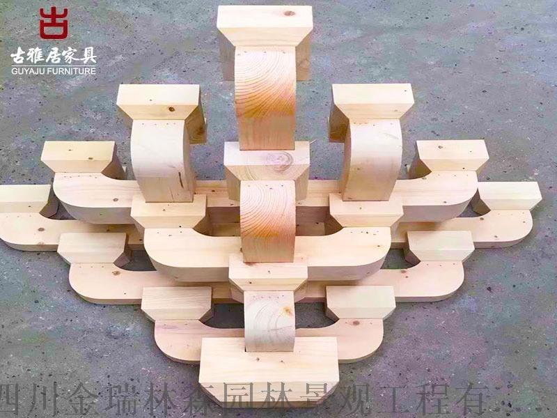 云南撑弓斗拱厂家,实木斗拱定吊瓜制加工