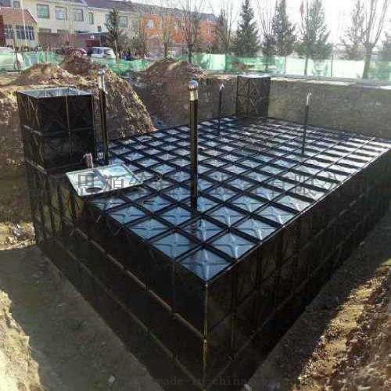 消防恒压泵站图纸HBP-324-180-60-I-HDXB地埋式箱泵一体化F