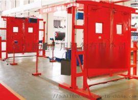 矿用风门机械闭锁装置结构和原理