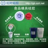 模擬食品模具矽膠 紅葉液體模具矽膠廠