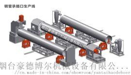 承插式钢管生产线