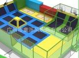 儿童室内幼儿园大型城堡超级大蹦床组合设备
