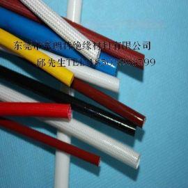 硅树脂玻璃纤维绝缘套管,自熄套管,阻燃套管