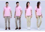 工作服翻領廣告文化衫T恤定製工衣POLO衫定做工裝印logo