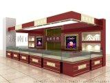 山东济南服装展柜设计制作加工厂家珠宝展柜制作公司