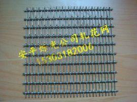 养猪轧花网 重型轧花网 长方孔养殖铁丝网
