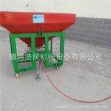 鐵桶單盤施肥機 拖拉機揹負式鐵桶1000公斤撒肥機施肥器撒播機