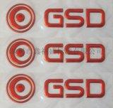 深圳厂家直供三维软塑标牌,各种立体软塑标贴,标签,LOGO