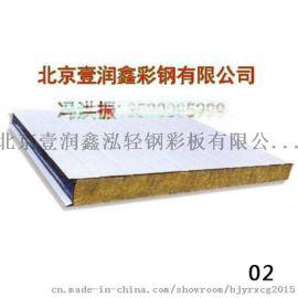 壹润鑫屋面玻璃丝绵夹芯板|压型钢板规格|压型板