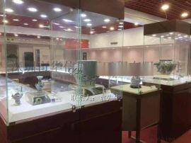 瓷器展厅布置规划,瓷器博物馆展柜订做,瓷器陈列柜