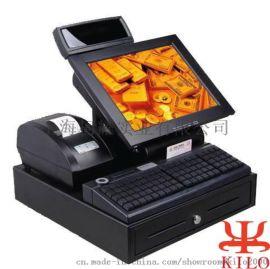 收银机T3700双屏一体机超市便利店餐饮触摸收款机