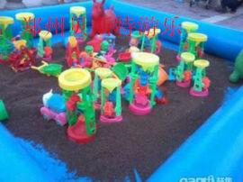 湖北恩施大型的兒童充氣沙灘池真的超級好經營