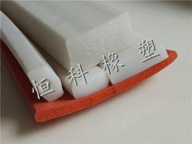 硅胶海绵密封条 海绵硅胶密封条