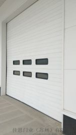 自動提升門彩鋼冷軋鋼板工業提升門車間工業滑升門