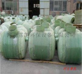 2立方玻璃钢化粪池-玻璃钢化粪池尺寸是怎样的?