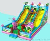 廟會上經營兒童充氣滑梯大聖歸來新款