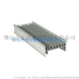 散热器铝合金挤压定制,散热铝型材加工,铝制散热器