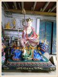 正圆地藏王菩萨厂家|玻璃钢地藏王佛像雕塑工艺厂