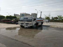 东风多利卡5吨流动加油车运油车铝合金半挂车