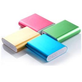 厂家直供铝合金移动电源充电宝手机四节移动电源