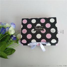 印刷纸礼盒 书型折叠彩盒 精美首饰包装礼盒