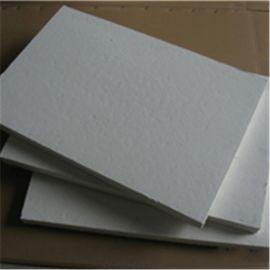 河北生产硅酸铝纤维毡 高密度硅酸铝保温板 防火材料