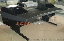 音乐工作室电钢工作台定做实木录音棚电子桌子
