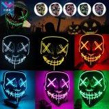 亞馬遜萬聖節EL發光面具舞會派對led mask